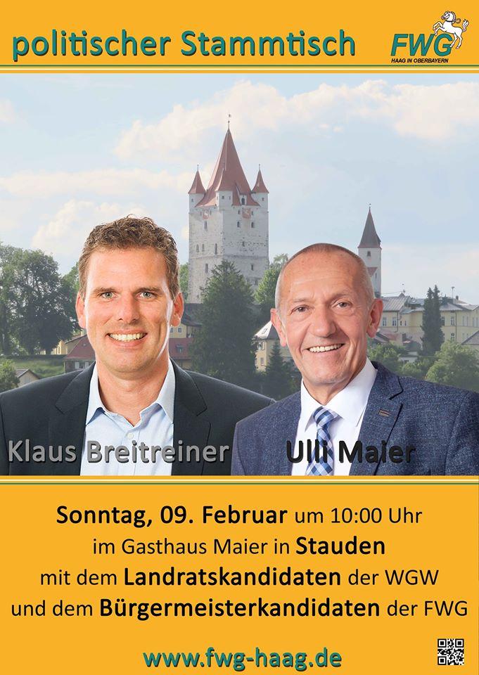 FWG Haag - Kommunalwahl 2020