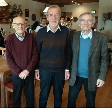 Herbert Zeilinger sen., Egon Barlag, Dr. Bernhard Grabmeyer